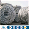 electro-galvanized security steel electric barbed wire mesh supplier