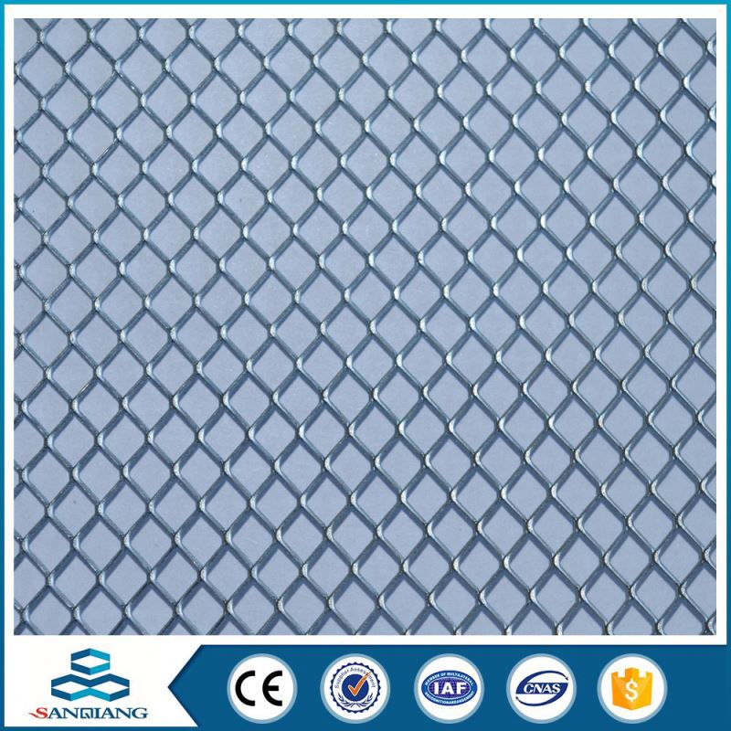 high quality with low price galvanized expanded metal mesh price for walkways