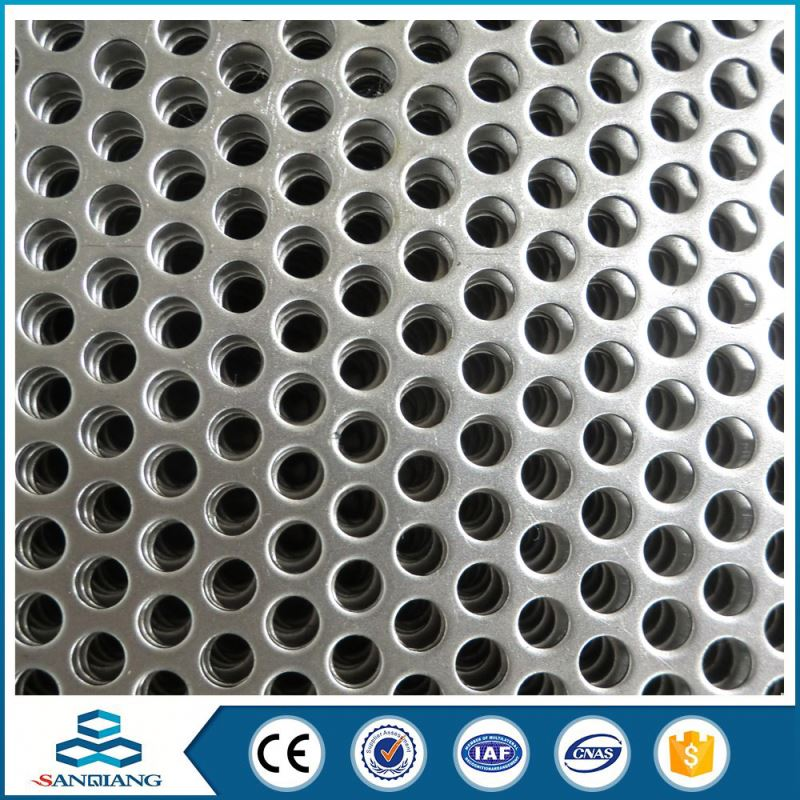 decorate aluminium micro perforated metal sheet mesh pannel