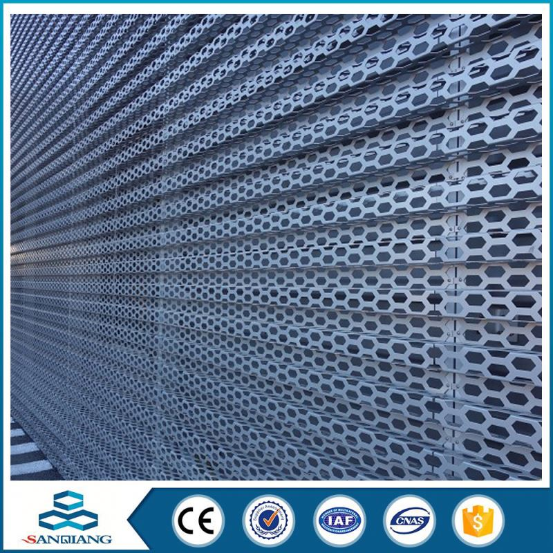 excellent quality color paint coated perforated metal sheet mesh tray