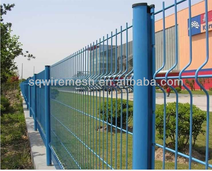 Fence Mesh Green Peach Column Fence(factory manufacture)
