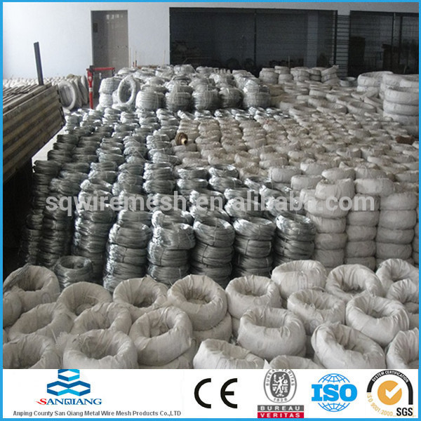 Electro galvanized wire & Hot-dipped galvanized wire