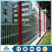 best price cheap double loop steel grating fence for sale