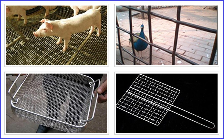 2016 High Quality stainless steel crimped mesh wire mesh fence